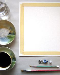 coffee+salt+watercolor