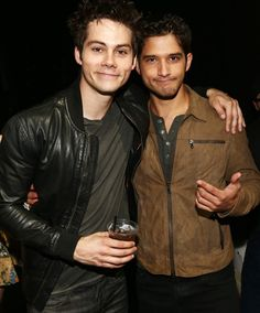 Dylan O'Brien and Tyler Posey.