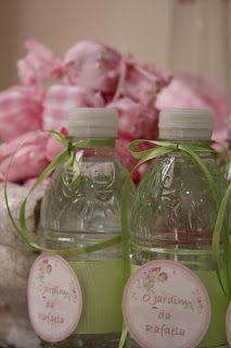 Piccolo Sogno: Baby Shower in a Romantic Garden in Rose Collors { Chá de Bebê no Jardim Romântico }