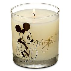 Magic Disney Store Soy Candle, Chocolate, Mint, & Sea Spray Blend