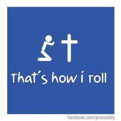 Yep, that's how I roll!