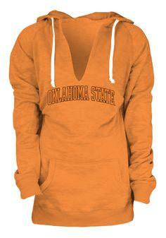 Oklahoma State Cowboys Hoodie - Womens Orange Burnout Fleece Pullover Hooded Sweatshirt http://www.rallyhouse.com/college/oklahoma-state-cowboys/a/womens/b/outerwear?utm_source=pinterest&utm_medium=social&utm_campaign=Pinterest-OSUCowboys $49.99