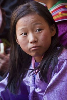 Young girl of Bhutan