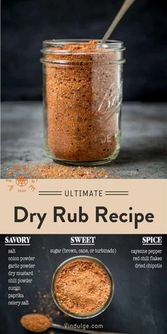 Pork Dry Rubs, Bbq Dry Rub, Meat Rubs, Dry Rub For Brisket, Dry Rub Ribs, Dry Rub For Steak, Pork Rub, Bbq Chicken Rub, Dry Rub For Chicken