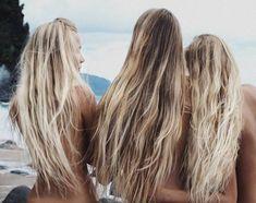 Beach Blonde Hair, Brown Blonde Hair, Beach Hair Color, Long Beach Hair, Brown Beach Hair, Black Hair, How To Lighten Hair, Hair Day, Gorgeous Hair