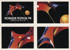 Go Card Advertising Postcard, Roskilde Festival' 98, 2867