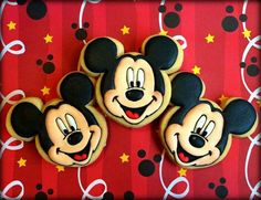 Mickey Mouse Cookies   Cookie Connection