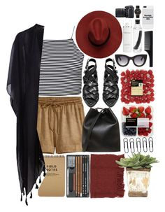 """""""Untitled #714"""" by phobia-of-everything ❤ liked on Polyvore featuring beauty, H&M, Boohoo, 3.1 Phillip Lim, Acne Studios, Thierry Lasry, Imm Living, Marc by Marc Jacobs, Pieces and Elemis"""