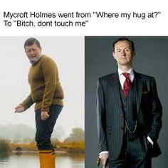 "Sherlock ""The Final Problem"". Season Episode << i love mycroft Sherlock Fandom, Sherlock John, Quotes Sherlock, Jim Moriarty, Mycroft Holmes, Johnlock, Martin Freeman, The Final Problem, Mrs Hudson"