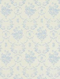 RALPH LAUREN TAPET SARATOGA , BLUEBELL-PRL033-02