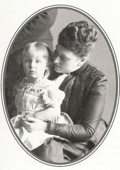 Beatrice and her daughter Victoria Eugenia