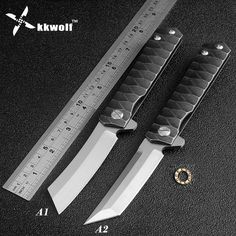 High quality tactical folding knife D2 blade ball bearing washer outdoor camping hunting pocket knife sharp razor portable EDC(China (Mainland))
