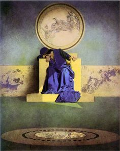 maxfield parrish- the young king of the black isles #fairy #tale #illustration