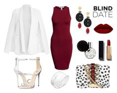 Blind Date by ballereyna on Polyvore featuring polyvore fashion style NLY Trend Giuseppe Zanotti GEDEBE Chico's Gucci Chanel clothing PartyWear DateNight trend blinddate