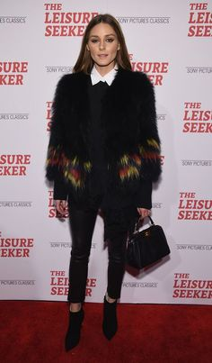 The Olivia Palermo Lookbook : Olivia Palermo at The Leisure Seeker premiere