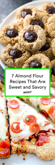 Ideas that sound nutty but totally work. #greatist http://greatist.com/eat/almond-flour-recipes