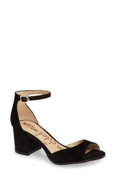 Sam Edelman Sam Edelman Susie d'Orsay Ankle Strap Sandal (Women) available at #Nordstrom