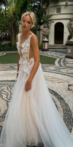 Wedding dress by Yaki Ravid Bridal 2017 Collection