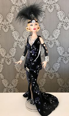 Emma Jean's.  Extravagant Night Out. Deja Vu . Tonner doll