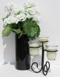 Candleinfinity three ring candle set