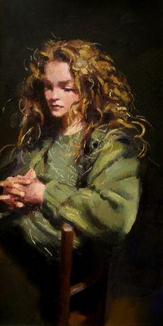 Study of Lisa Stokes by Robert Lenkiewicz