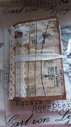 Handmade vintage style, sewing theme