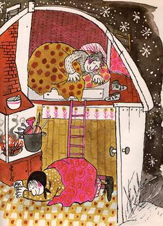 Nail Soup: A Swedish Folk Tale retold by Harve Zemach, illustrated by Margot Zemach (1964).