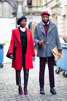 Today is a couple #street #fashion #snap ❤