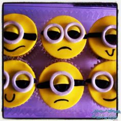 Minions cupcake