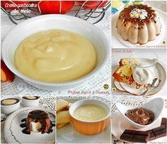 Dessert creme e dolci al cucchiaio