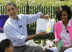 Obamas reading