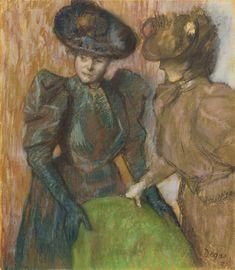 Edgar Degas LA CONVERSATION