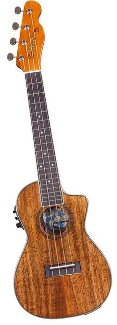 Fender Mino'Aka Koa Cutaway Electric Ukulele Natural (via Musician's Friend)