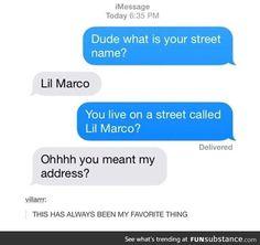 ooooooooooh... u mean that street name