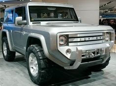 Concept ford bronco....I want!