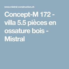Concept-M 172 - villa 5.5 pièces en ossature bois - Mistral