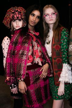 Anna Sui at New York Fall 2016 (Backstage)