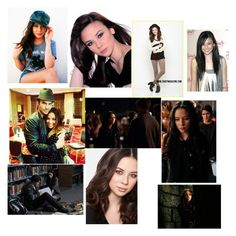 A beauty collage from May 2014 Malese Jow, Vampire Diaries, Alexander Mcqueen, Anna, Polaroid Film, Collage, Polyvore, Movie Posters, Beauty