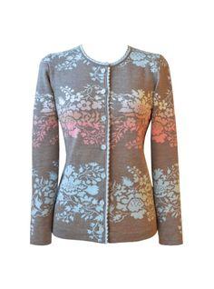 Design 190 Oleana - Solveig Hisdal - Norwegian Sweaters Cardigan Knit