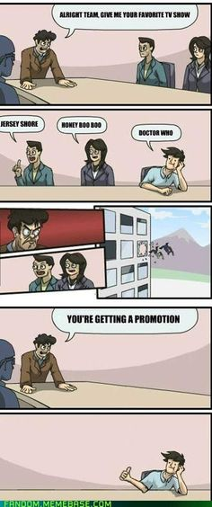 Doctor Who: Getting You Promoted!