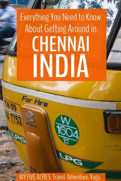 Getting around Chennai is not easy. This guide will tell you everything you need to know about Chennai auto rickshaws and Chennai transport for a hassle-free visit to this fascinating city. China Travel, India Travel, India Trip, New Delhi, Goa, Travel Guides, Travel Tips, Taj Mahal, Backpacking India