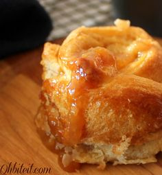 Caramel Apple Popovers