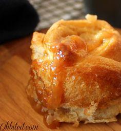 Caramel Apple Popovers