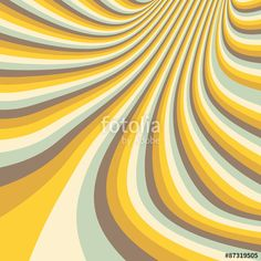 Vector: Pattern with optical illusion. Abstract background. Optical art. Vector Illustration.