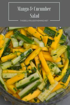 This salad is as tasty as it is beautiful, and I think it would make a lovely addition to your next summer meal or a get-together.http://bit.ly/20ZWiUK