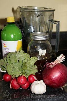 Ingredientes descongestionantes caseras - Titus2Homemaker.com # t2hmkr # salud # naturalhealth