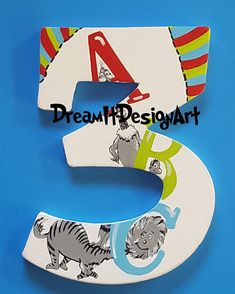 Items similar to Birthday Number -- Custom Hand Painted Wall Number on Etsy Hand Painted Walls, Quirky Gifts, Birthday Numbers, Letter Wall, Nursery Themes, Party Time, Birthday Parties, Handmade Gifts, Crafty