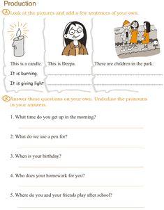 English time lesson 5 homework