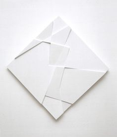 White fold paper