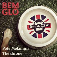Feito de Melamina (material resistente e fácil de lavar) esse pote é tudo de Bemglô. God save the dog! <3 #bemglo #pet #pote